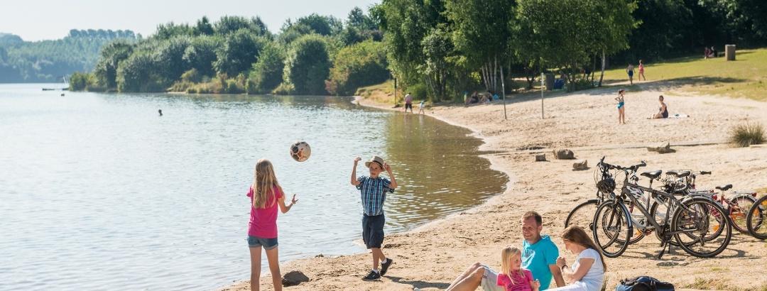 Familienausflug Blaustein-See