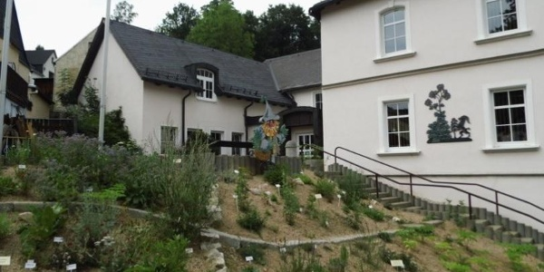 Kräutergarten am Rathaus in Bockau
