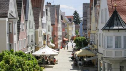 Kornstraße in Mindelheim