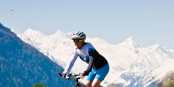 Mountainbike im Stubaital
