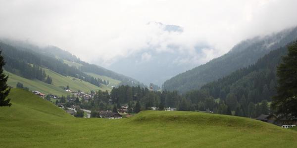 Blick auf Obernberg am Anfang der Tour (Foto Walter Kaller)