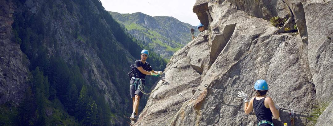 Aletsch via ferrata