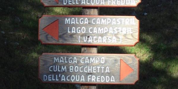 Trekking ai Laghi di San Giuliano.
