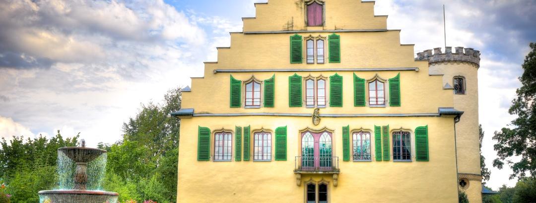 Schloss Rosenau - Nordseite