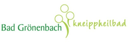 Logo Kur- und Gästeinformation Bad Grönenbach