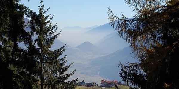 Almgasthof Himmelbauer vom Weg zur Staneralm