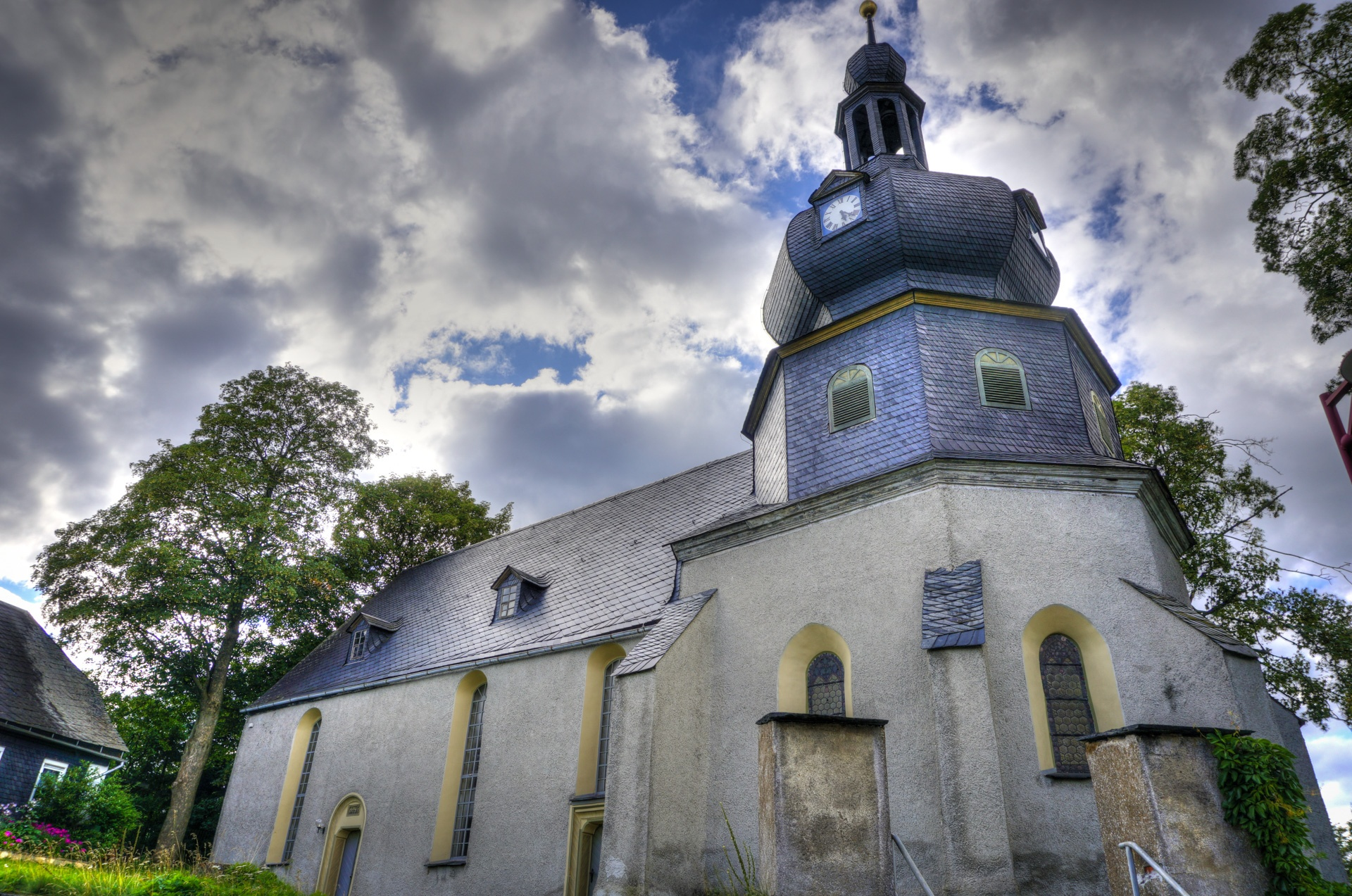 Dorfkirche Lichtentanne • Kirche » Das digitale Wegenetz