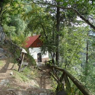 L'eremo di San Martino, sopra Carisolo