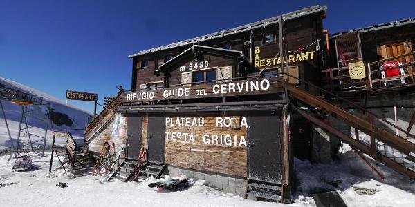 Das Rifugio Guide del Cervino