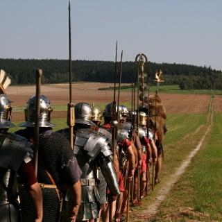 Legionäre auf dem Ausoniusweg
