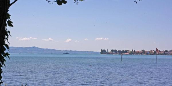 Blick auf die Insel Lindau