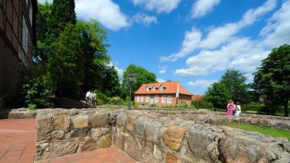 Klosterpark Harsefeld im Alten Land am Elbstrom