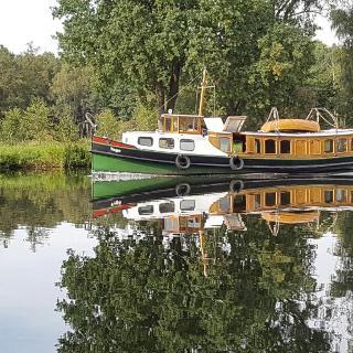 am Kanal in Bernöwe