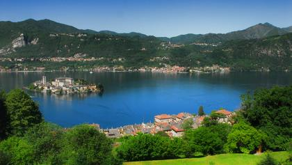 Lago d'Ora et l'isola San Giulio