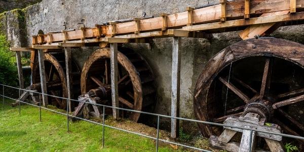 Mühle im Weiler