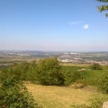 Aussicht am Karlstein