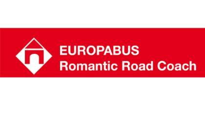 Das Logo des Europabusses.