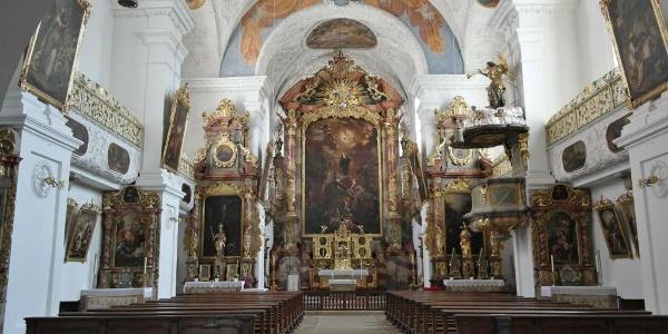 Kosterkirche St. Walburg in Eichstätt im Altmühltal