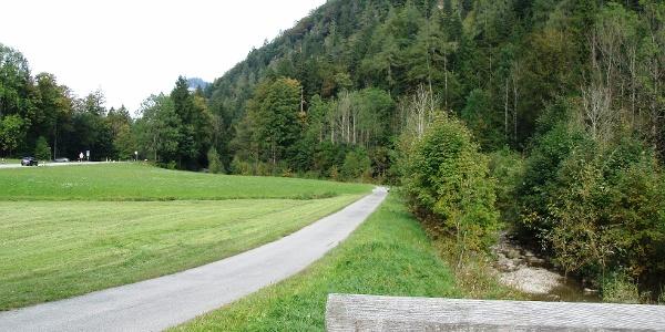 Von Sachrang Richtung Hohenaschau