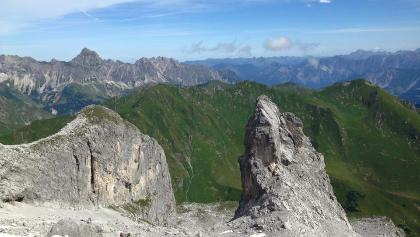 Ausblick Richtung Geißspitze