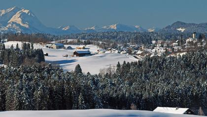 Blick auf Oberreute