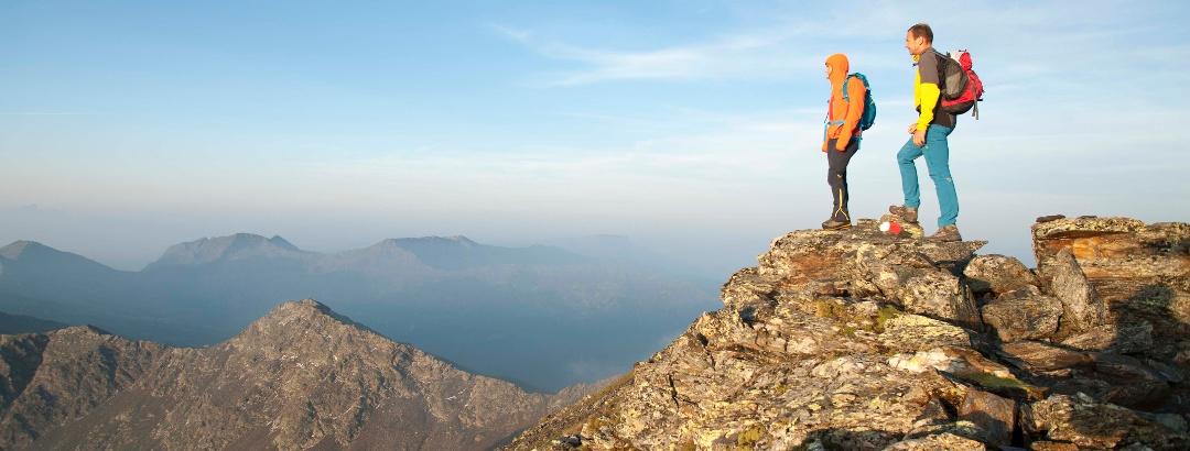 Bergsteigen im Sarntal