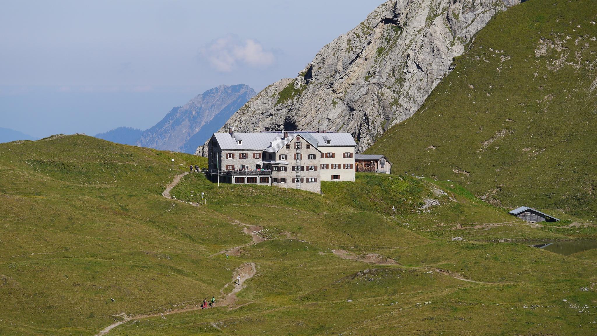 In den Deutschen Alpen ins Arschloch gefickt