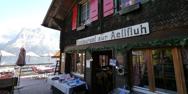 Das Bergrestaurant zur Aellfluh