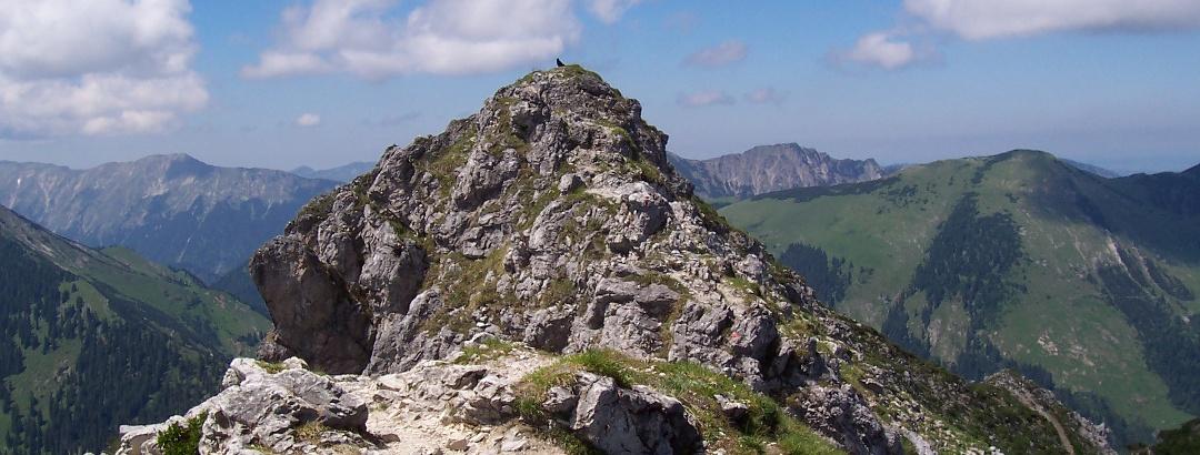 Der Gipfel der Kramerspitz.