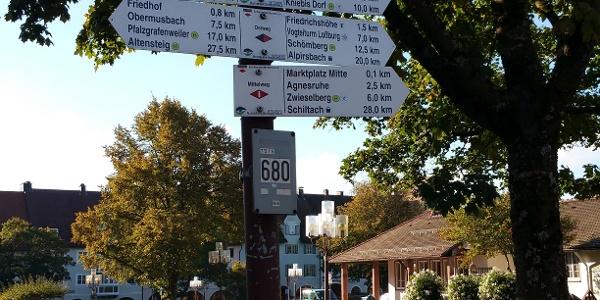 Start Freudenstadt Marktplatz