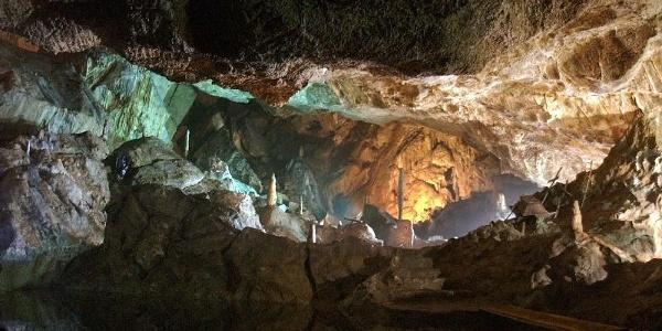 Goethesaal in der Baumannshöhle