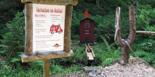Feuerwehrwegle Kniebis