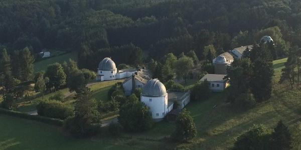 Luftaufnahme Hoher List - Observatorium