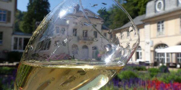 Kurgarten mit Kursaal u Kurfürstlichem Schlösschem