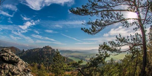 Blick auf den Papststein (c) S. Rose / Tourismusverband Sächs. Schweiz