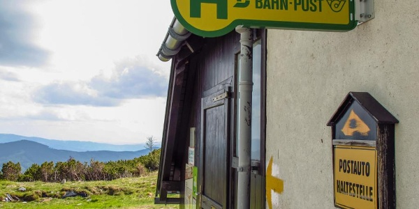"""Raststation """"Seehütte"""" auf der Rax (nein, es fährt kein Bus)"""