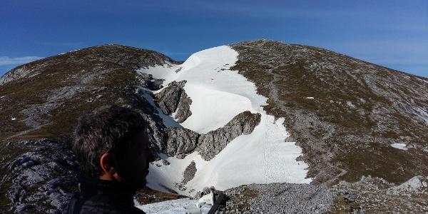 Hochschwab Gipfel vom Schiestlhaus