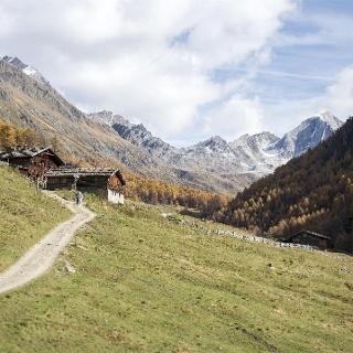 Val di Fosse - Vista alla Malga Mitterkaser
