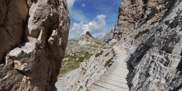 Der Bergpfad am Paternkofel
