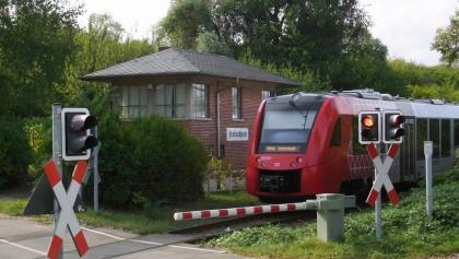 Ehemaliges Stellwerk Freinsheim in Bahnhofsnähe