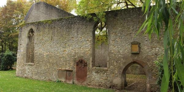 Die Ruine der Liebfrauenkirche in Westhofen