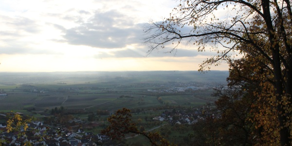 Aussicht vom Grafenberg Herrenberg