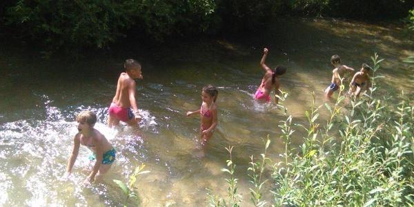 Kupanje u Rakitnici