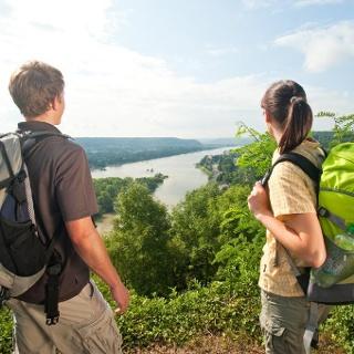 Aussicht auf den Rhein
