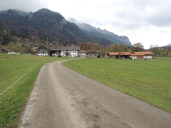 Hofstelle im Ortsteil Hub