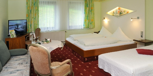Superior-Zimmer mit 3 Betten