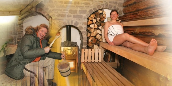 Thomas Gottschalk / Sauna