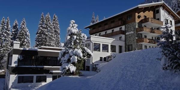Hotel Silvretta in Winter