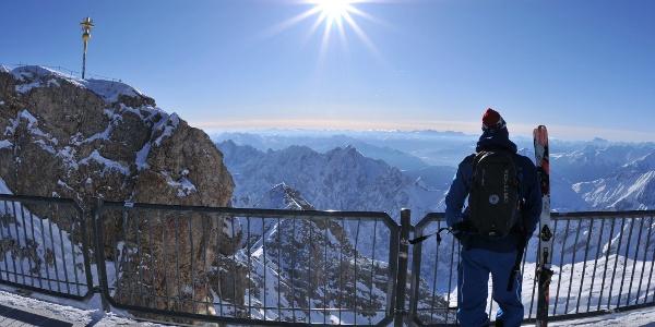 Start auf der Zugspitze