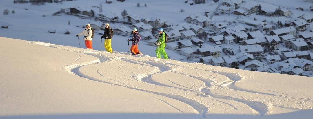 Skifahren in Serfaus-Fiss-Ladis